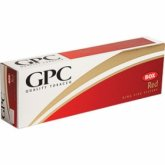 GPC Red King cigarettes 10 cartons