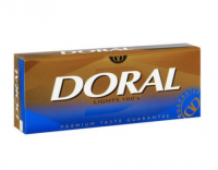 Doral Lights 100's cigarettes 10 cartons