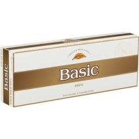 Basic 100's Gold Pack Box cigarettes 10 cartons