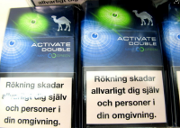 Camel Activate Double Mint & green cigarettes 10 cartons