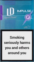 LD IMPULSE SUPER SLIMS PURPLE cigarettes 10 cartons