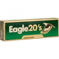 Eagle 20's Menthol Gold King cigarettes 10 cartons