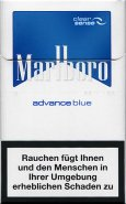 Marlboro advance blue clear sense cigarettes 10 cartons