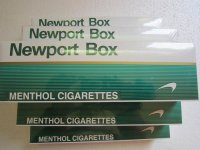 Newport box cigarettes (10 Cartons)
