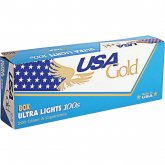 USA Gold Blue 100's cigarettes 10 cartons