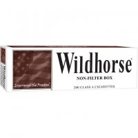 Wildhorse Non-Filter King Box cigarettes 10 cartons
