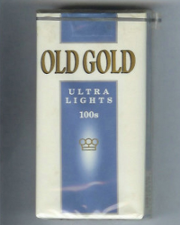 Old Gold Ultra Lights 100s soft box cigarettes 10 cartons