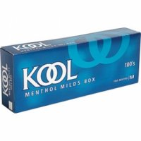 Kool Menthol milds 100's box cigarettes 10 cartons