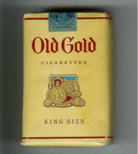 Old Gold King Size soft box cigarettes 10 cartons
