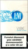 L&M VIBE Super Slims Cigarettes 10 cartons