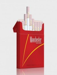 Manchester Nano Red cigarettes 10 cartons