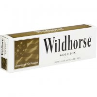 Wildhorse Gold Box Cigarettes 10 cartons
