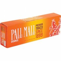 Pall Mall Orange Kings cigarettes 10 cartons