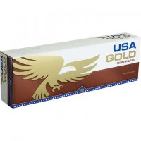 USA Gold Non-Filter Soft Pack cigarettes 10 cartons