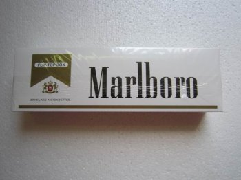 Marlboro Gold Pack Regular Cigarettes 4 Cartons