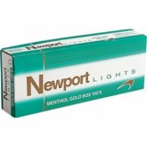 Newport Menthol Gold 100's box cigarettes 10 cartons