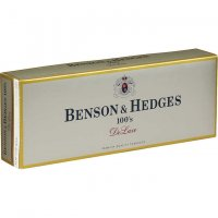 Benson & Hedges 100's DeLuxe box cigarettes 10 cartons