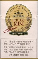 Bohem Cigar Mini No.1 cigarettes 10 cartons