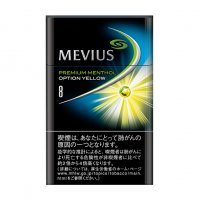 MEVIUS PREMIUM MENTHOL OPTION YELLOW 8 cigarettes 10 cartons