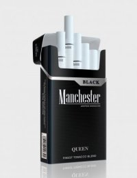 Manchester Queen black cigarettes 10 cartons