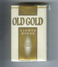 Old Gold Lights Kings soft box cigarettes 10 cartons