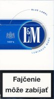 L&M Blue Label 100s Cigarettes 10 cartons