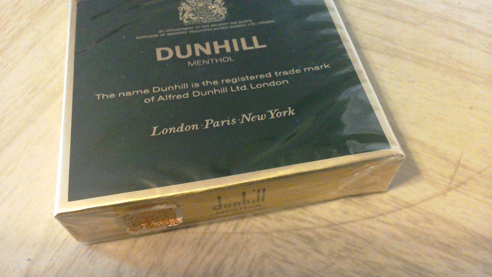Dunhill International Menthol Cigarettes 10 Cartons Mild 20