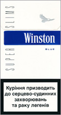 Winston Super Slims Blue 100s cigarettes 10 cartons