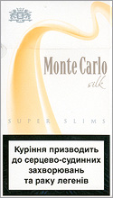 Monte Carlo Super Slims Silk 100`s cigarettes 10 cartons