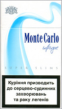 Monte Carlo Super Slims Intrigue 100`s cigarettes 10 cartons
