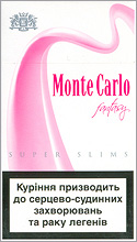 Monte Carlo Super Slims Fantasy 100S cigarettes 10 cartons