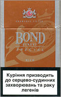 Bond Special Rich Cigarettes 10 cartons