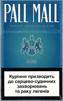 Pall Mall Azure Cigarettes 10 cartons