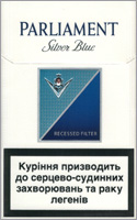 Parliament Extra Lights (Silver Blue) Cigarettes 10 cartons