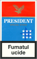 President Special Stars Cigarettes 10 cartons