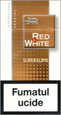 Red&White Super Slims Special Cigarettes 10 cartons