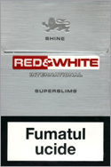 Red&White Super Slims Shine Cigarettes 10 cartons