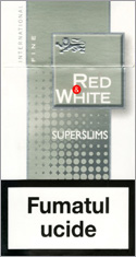 Red&White Super Slims Fine Cigarettes 10 cartons