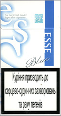 Esse Blue Super Slims 100`s Cigarettes 10 cartons