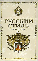 Russian Style Super Lights Cigarettes 10 cartons