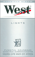 West Stream Tec Lights (Silver) Cigarettes 10 cartons