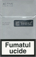 West Silver Fusion Cigarettes 10 cartons