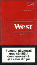 West Red Compact Cigarettes 10 cartons