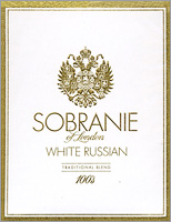 Sobranie White Russian Cigarettes 10 cartons