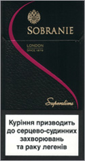 Sobranie Super Slims 100's Cigarettes 10 cartons