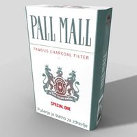 Pall Mall Silver Cigarettes 10 cartons