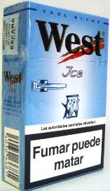 West Ice Cigarettes 10 cartons