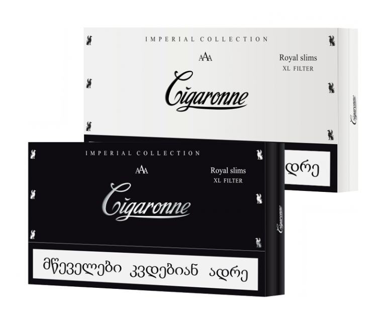 Cigaronne Imperial Collection Royal Slim XL Filter 10 cartons