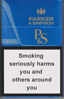 Parker&Simpson Blue Cigarettes 10 cartons