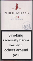 PHILIP MORRIS RED 100S cigarettes 10 cartons